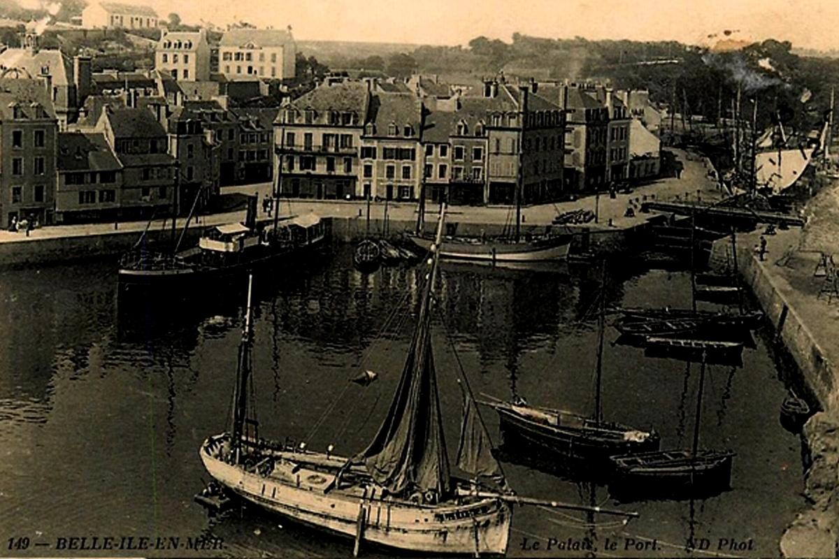 Photo historique de Belle-Île-en-Mer