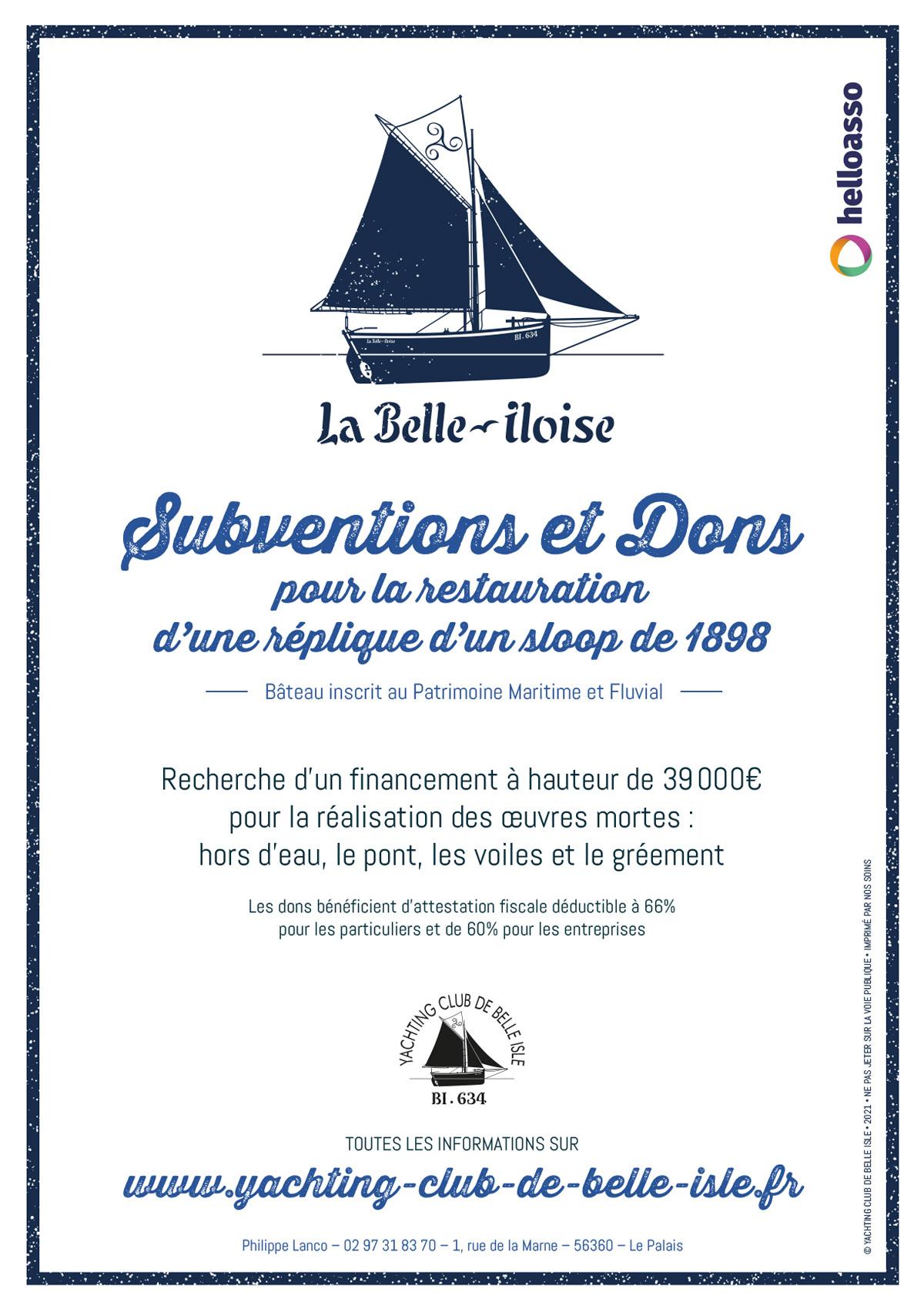 Affiche LA Belle Iloise 2021